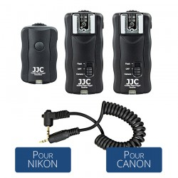 Kit Télécommande et Déclencheur Flash pour Canon