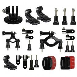 Kit Complet Accessoires Fixation pour GoPro