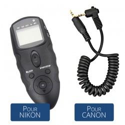 Kit Télécommande & Minuterie Infrarouge Universelle MT-636 avec Récepteur IR + Câble -C