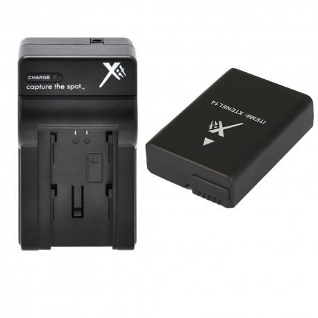 Chargeur (Auto/Secteur) + Batterie pour Nikon