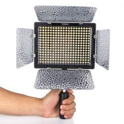 Lampe LED YN-300iii pour Vidéo température de couleur réglable