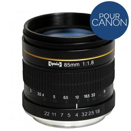 Téléobjectif Opteka 85mm f / 1.8 pour Nikon DSLR