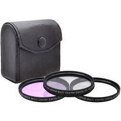 3 Filtres HD: UV FLD CPL Polarisant HD